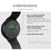 PROMO I4 Smartwatch Android 5.1 dengan Bluetooth + Monitor Detak