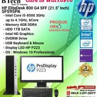 HP EliteDesk 800 G4 SFF - 5FS95PA Core i5-8500/4GB/1TB/DVDRW/W10/3YR