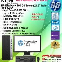 HP EliteDesk 800 G4 TOWER - 5FT02PA Core i5-8500/4GB/1TB/DVDRW/W10/3YR