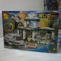 LEGO MEDICAL CENTER MERK OXFORD MADE KOREA ORI