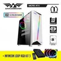New PC Komputer Rakitan Gaming Ryzen 5 2400 RAM 8GB DDR4 VGA 2GB