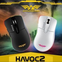 Havoc 2 (4800 CPI) RGB Gaming Mouse Free T-shirt X-cross