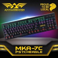 Keyboard Gaming Armaggeddon MKA 7C Blue mechanical switch