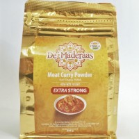 De' Maderaas Meat Curry Powder Extra Strong 225gr