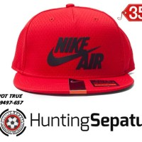 Topi Casual Snapback Nike Air Pivot True Hat Red Original 729497-657 dadf0e7210