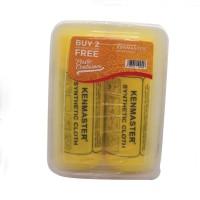 Kenmaster Plas Chamois Yellow - Paket 2pcs Free Box Serbaguna