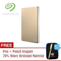 "Seagate Backup Plus Slim Harddisk Eksternal 2TB 2.5"" USB3.0 [PCPN]"