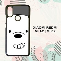 Casing Xiaomi Redmi Mi6x | MiA2 Custom Hardcase HP Cute Bear LI0270