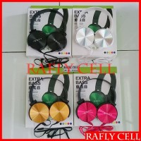 Headphone Super Bass Untuk HP SAMSUNG C5 PRO Headset Hedset Gaming