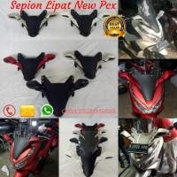 tameng dan Sepion Lipat honda New Pcx Aksesoris Honda