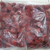 Buah Beku Stroberi Strawberry Frozen 1kg TERMURAH SE INDONESIA DIJAMIN