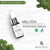 Produk Kecantikan Mellydia Whitening Serum Menghilangkan Flek Hitam