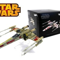 Hot Wheels ELITE Star Wars X-Wing Star fighter Red Five Vehicle