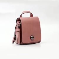 TAS SLEMPANG WANITA-DONATELLO ORIGINAL-TSZ85920 PINK-SLING BAGS SIMPLE