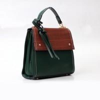 TAS SLEMPANG WANITA-DONATELLO ORIGINAL-TS000213 GREEN-SLING BAGS WANIT