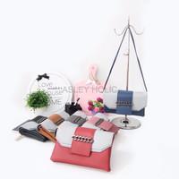 Harga tas selempang kekinian tas fashion rantai 2 ruang kode n1 2 import | antitipu.com