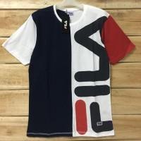Baju Kaos Distro FILA untuk pria size M & L