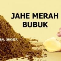 Harga promo jamu herbal tradisional tanaman obat jahe merah bubuk | Pembandingharga.com
