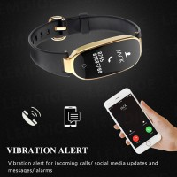 Smartwatch wanita smartband lemfo s3 heart rate waterproof ip68 gold