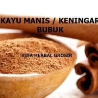 Harga promo jamu herbal tradisional kayu manis atau keningar bubuk | Pembandingharga.com