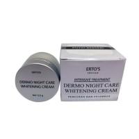 ERTO'S Skincare ERTOS Dermo Night Care Whitening Cream Murah