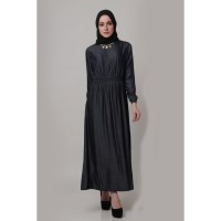 XSHOP Long dress gamis maxi tangan panjang Variasi Kalu Limited