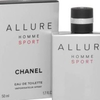 Big Promo..!!!!! Parfum Ori Pria Chanel Allure Homme Sport Edt 50 Ml -