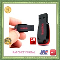 Komputer & Aksesoris-Flashdisk Sandisk Cruzer Blade (16 GB)