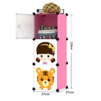 Promo Lemari Plastik Serbaguna Portable Anak Bayi Rak Baju 1- Limited