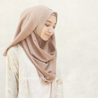 Hijab / Jilbab Kerudung Pashmina Instan Clarisha , Murah, Hits, Bagus