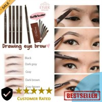 Pensil Alis Plus Sikat Etude Drawing House Eyebrow