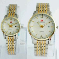 DragonWatch Jam Tangan Couple Swiss Army/Tissot/Ripcurl/Aigner