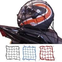 Jaring Helm Motor Sepeda Tali Pengikat Barang Bagasi Helmet Net