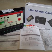 Charger Controller Panel Surya Aki 12 Volt/24 Volt Arus Pengisian Maks