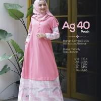 Gamis Cantik Dewasa Terbaru Alnita AG 40