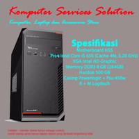 [Baru]Komputer/PC Rakitan I5 Cocok untuk Kantor/Office Bergaransi