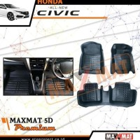 karpet maxmat 5D premium mobil all new civic