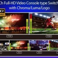 Lumantek EZ-Pro VS4 - 4 input HD video mixer HDMI+SDI input