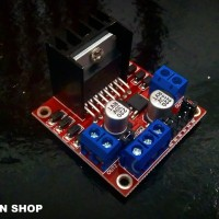Driver Motor L298N (2 Motor can use PWM)