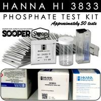 Testkit HANNA HI 3833 Phosphate Test Kit | Teskit buat Tes Uji Fosfat