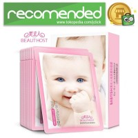BEAUTY HOST Masker Wajah Moisturizing Whitening Baby Formula 10PCS -