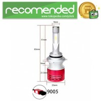 Lampu Mobil LED Headlight V5 9005/HB3/H10 60W 8400Lm Super Bright 2PC