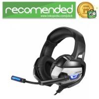 ONIKUMA Gaming Headset Super Bass LED with Microphone - K5 - Hitam