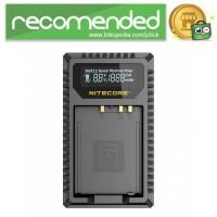 NITECORE Charger Baterai Built-in USB Cable Fujifilm NP-W126 - FX1 -