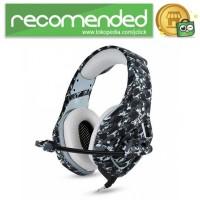 ONIKUMA Gaming Headset Super Bass with Microphone - K1-B - Gray