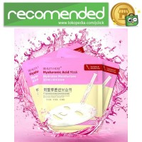 BEAUTY HOST Masker Wajah Hyaluronic Acid 10PCS - Putih
