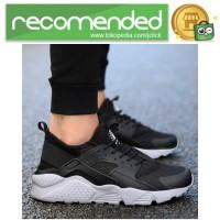 Sepatu Sneaker Huarache NMD EQT Sporty - 44 - Hitam