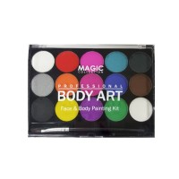 Magic Collection - Body Art Face & Body Painting Kit FAC-402 thumbnail