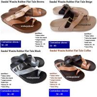 Sendal flip Wanita Flat Tale