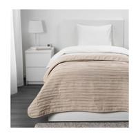 IKEA VEKETAG Penutup Tempat Tidur 160x250cm Warna Krem